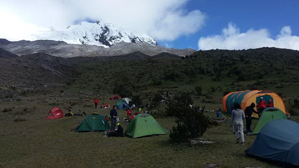 Antisana camping